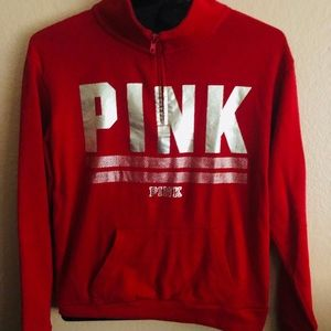 Pink-VS Holiday collection pullover